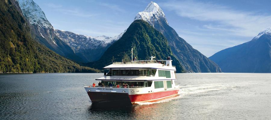 le plus célèbre fjord du sud de la Nouvelle-Zélande